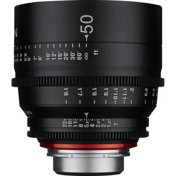 Rent Rokinon Xeen 50mm T1.5 Cine Lens for PL Mount Full Frame