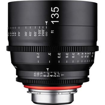 Rent Rokinon Xeen 135mm T2.2 Cine Lens with PL Mount Full Frame