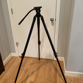 Rent iFootage Gazelle Fastbowl aluminum 3-Section Tripod, comes with Komodo K5 fluidhead