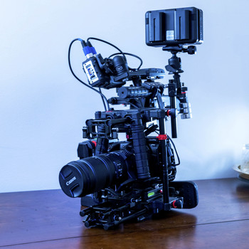 Rent Blackmagic Pocket 6k + Tilta Nucleus M + RAW 4K ProRes Simultaneous 1080 Proxies Run and Gun Documentary Camera Package