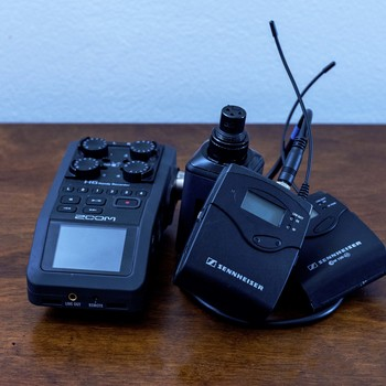 Rent Wireless Lav and Boom Mic Zoom H6N Audio Kit with Harness