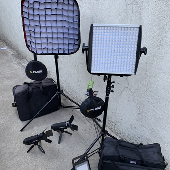 Rent Litepanel LED 6 Light Package