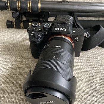 Rent Sony A7iii Camera Kit with 28mm - 75mm Lens + 256GB SD card + Tripod