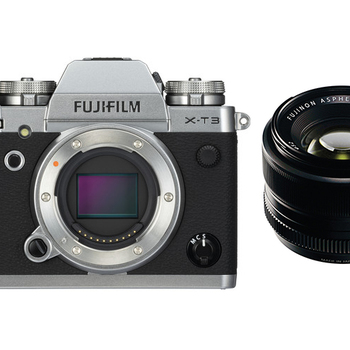 Rent Fujifilm X-T3 Mirrorless Digital Camera + 35mm f/1.4 R Lens + EF Adapter + 256GB SD + 3 Batteries