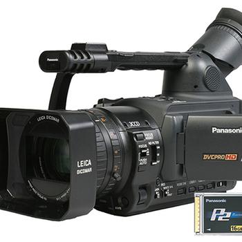 Rent Panasonic HVX200 with p2 card