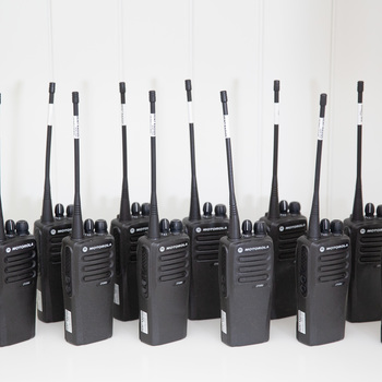 Rent Motorola CP200d Walkie Talkie - 12 Radios