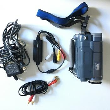 Rent Sony Hi8 VHS camera with digitalizer