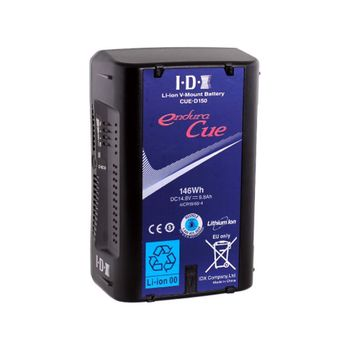 Rent 8 x IDX Endura CUE V mount 148WH (150) batteries plus 2 4 way chargers and optional gold mount AB mount adapter