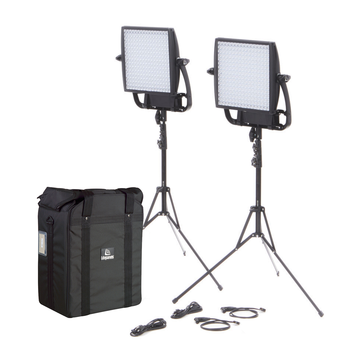 Rent 2 - Astra 1x1 EP Bi-Color Lights with Medium Duty Stands