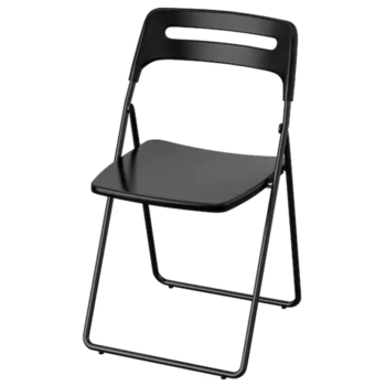 Rent Black Metal Folding Chair (15 AVAILABLE)