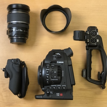 Rent Canon C100 w/ Manfrotto Tripod - FULL KIT