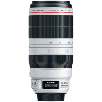 Rent Canon EF 100-400mm f/4.5-5.6L IS II USM Lens  + UV filter + Soft Case