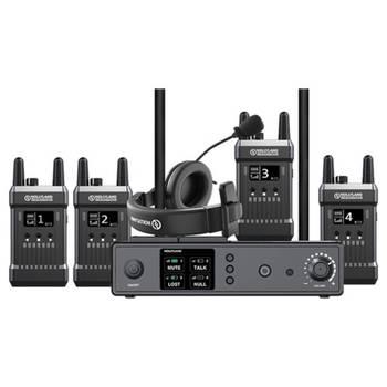 Rent Hollyland Mars T1000 Full-Duplex Wireless Intercom System - 4 Users