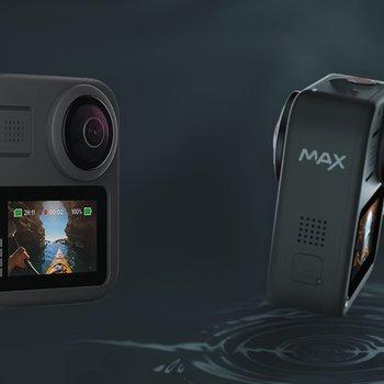 Rent GoPro MAX 360 Camera w/ 2x Batteries, 2x 64 GB microSD