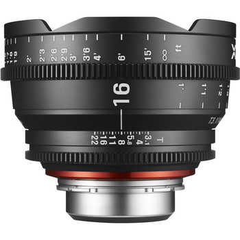 Rent Rokinon Xeen 16mm Wide Angle Cinema Lens