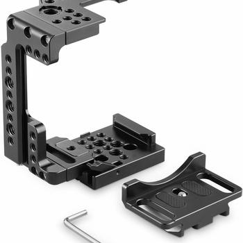 Rent SMALLRIG Quick Release Half Cage for Sony A7R III/A7 III/A7 II/A7R II/A7S II - 2098