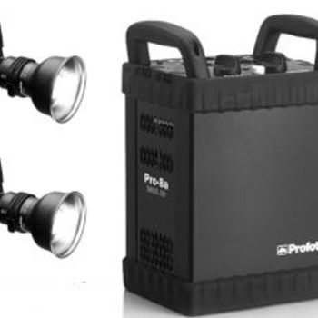 Rent Profoto Pro 8A Air 2400w Power Pack w/ 2 heads