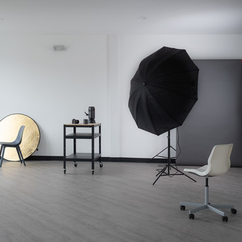 Rent Spacious Natural Light Studio in the Crossroads with 270 Degrees of Windows