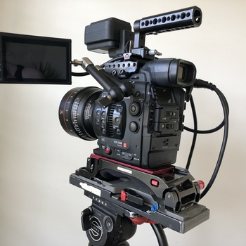 Rent Canon C300 Mark II Package with Handheld Rig