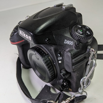 Rent Nikon D800 Full Frame Body