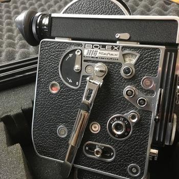 Rent (2) Bolex 16mm reflex kit (REX-4), with 5 lenses