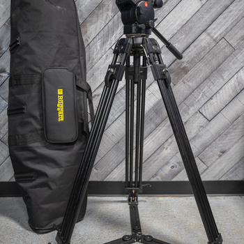 Rent Manfrotto 526 Pro Fluid Head + Legs with 529 Hi Hat