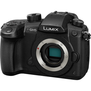 Rent  Panasonic Lumix DC-GH5 Mirrorless Micro Four Thirds Camera w/ SD Card, Power & Batteries