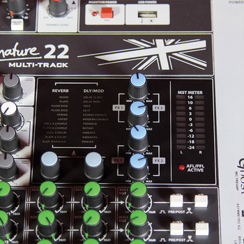 Rent Soundcraft Signature 22 Channel MTK Mixer with 4 Subgroups