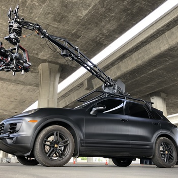 Rent MotoCrane ULTRA with Porsche Cayenne S Camera Car