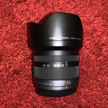 Rent Panasonic Lumix G Vario 7-14mm f/4 Ultra Wide Angle MFT Lens