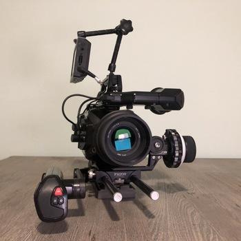 Rent Blackmagic URSA Mini 4.6K PL + Zoom lens + Full Kit