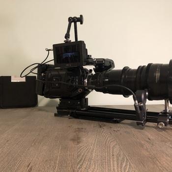 Rent Blackmagic URSA Mini 4.6K PL SHOOTING KIT (Lens, Tripod, Accessories)