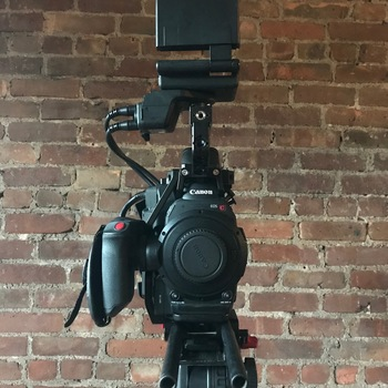 Rent EF Canon C300 Mk II - With handheld setup