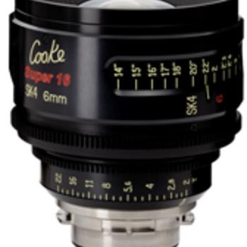Rent Cooke SK4 Super 16 6mm Lens