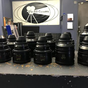 Rent Cooke SK4 Super 16 / S4i T2 10 Lens Set - 6, 9.5, 12, 14, 18, 25, 35, 50, 75, 135mm