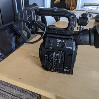 Rent Canon C200 w/ SolidPod and 2x 1TB cards - 266 Min of RAW Recording !!