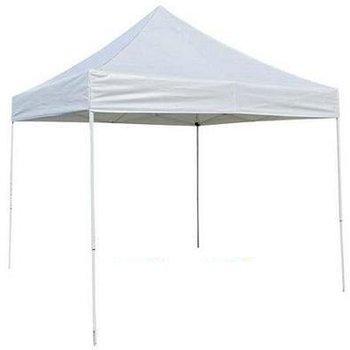 Rent 10x10 white pop-up tent