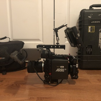 Rent ARRI Alexa Mini w/ Arri Raw & 4:3 Licenses, PL & EF