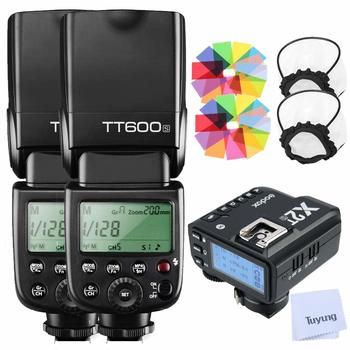 Rent (2) Godox TT600S  with X2T-S Trigger Transmitter