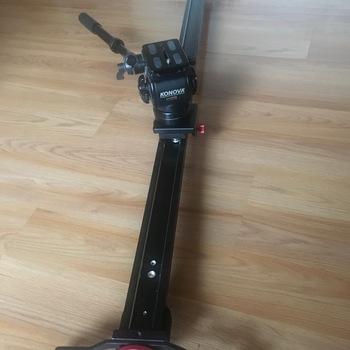 Rent Konova 4 Ft Slider + Fluid Tripod Head + Cleaning / Adjusting Accessories