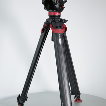 Rent Sachtler Flowtech 75 MS Carbon Fiber Tripod w/ Manfrotto Fluid Head