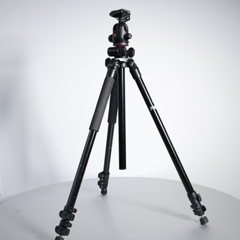 Rent Oben AC-2341L 3-Section Aluminum Tripod Legs w/ Manfrotto 496RC2 Ball Head