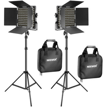 Rent Neewer 3x LED Light Kit with Stands