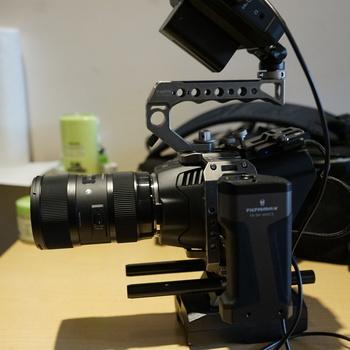 Rent Black Magic Design Pocket Cinema 6k Kit with 3 Lenses, Atmos Monitor and EDGE Power Base