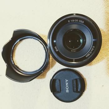 Rent Sony 35mm F/1.8 OSS Prime Lens