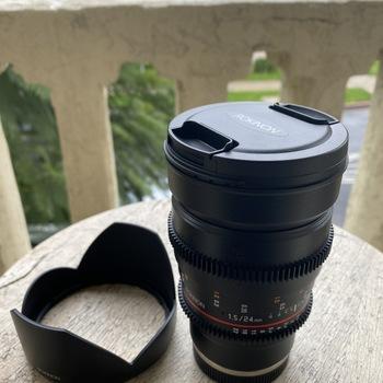 Rent Sony A7 III with Rokinon T1.5 Cine Lens Bundle