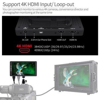 Rent FEELWORLD F570 5.7 inch DSLR on Camera Field Monitor Small HD Focus Video Assist IPS Full HD 1920x1080 Support 4K HDMI Input