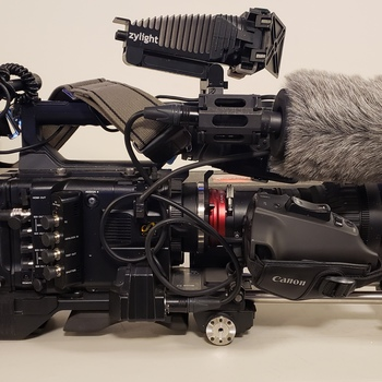 Rent Sony F5 ENG camera kit