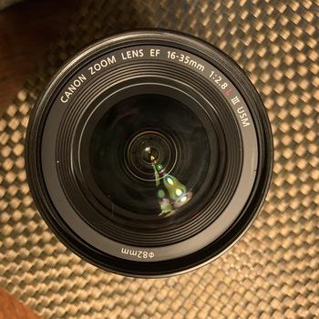 Rent Canon EF 16-35mm f/2.8L III USM Lens with Lens Cap.