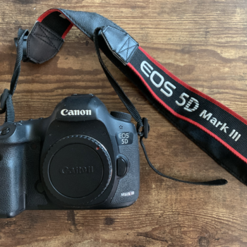 Rent Canon 5D Mark III Body with Strap